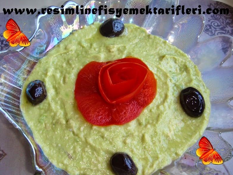 ezme avokado salatası nasıl yapılır