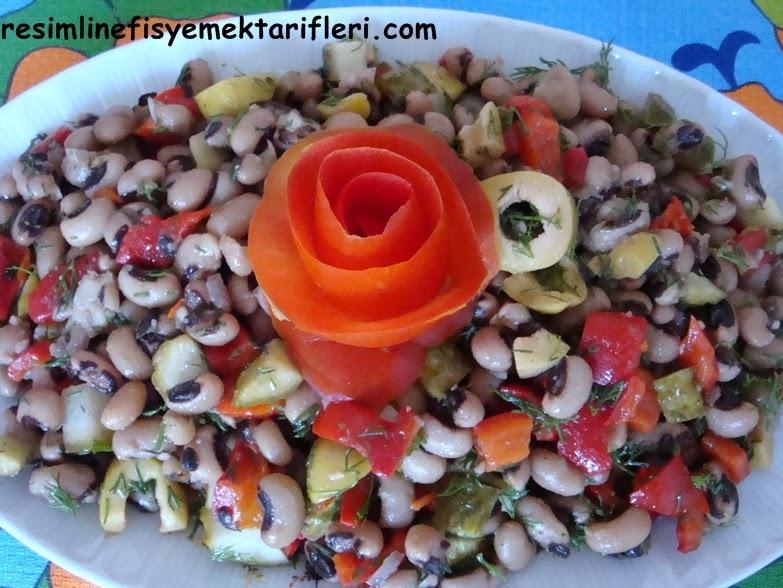 köz biberli börülce salatası