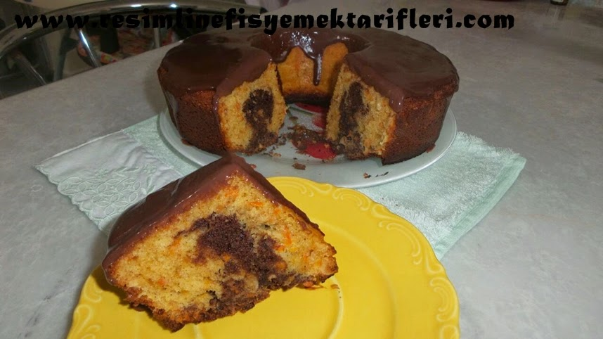 4 3 2 1 havuçlu kek nasıl yapılır