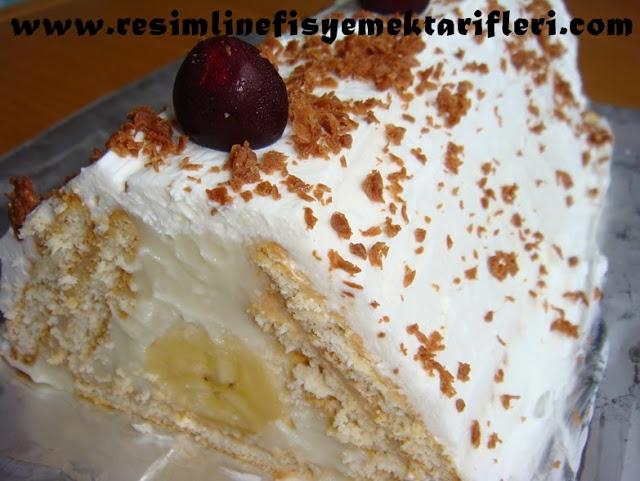 muzlu piramit pasta nasıl yapılır