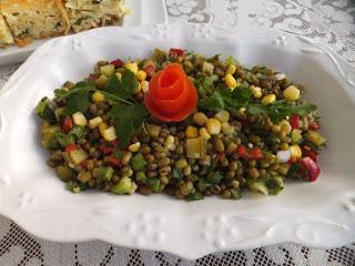 maş fasulyesi salatası nasıl yapılır