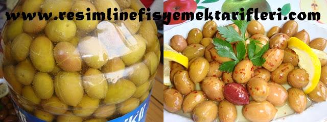salamura yeşil zeytin nasıl yapılır