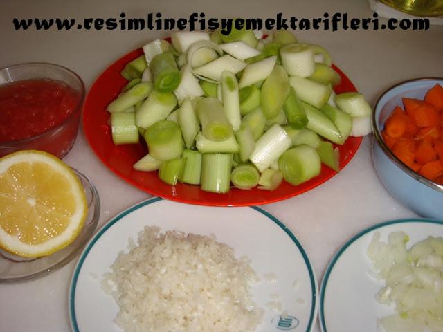 zeytinyağlı pırasa nasıl yapılır
