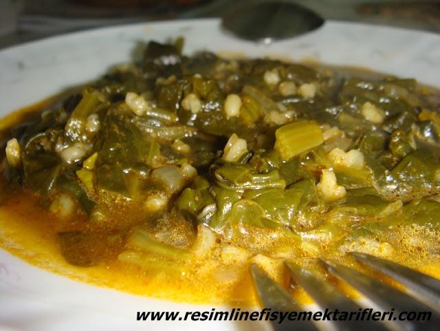 bulgurlu ıspanak yemeği nasıl yapılır