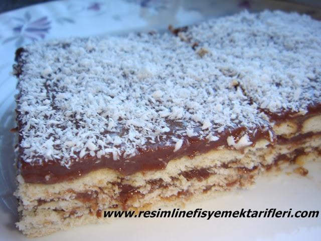 bisküvili pasta nasıl yapılır