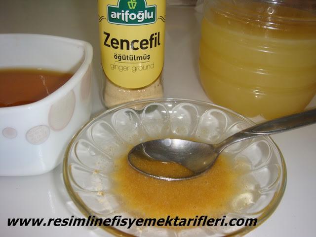 bitkisel antibiyotik zencefilli bal